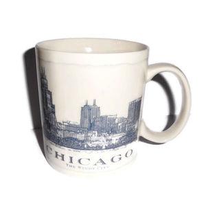Starbucks City Mug Coffee Chicago 2008 18 oz